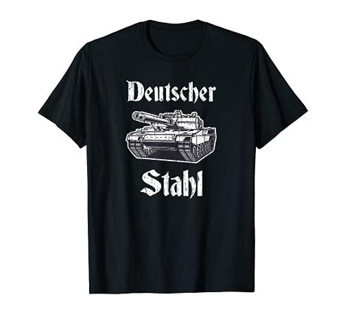 Panther Panzerdivision - Figura de gato depredador alemn de acero alemn Camiseta