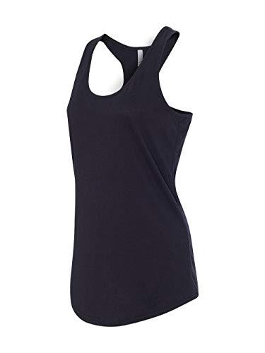 Next Level Apparel Women's Tear-Away Tank Top, Black, Large