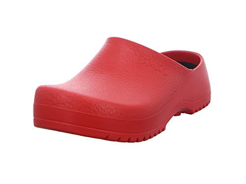 Birki's Unisex-Erwachsene Super Birki Clogs, Rot, 37 EU