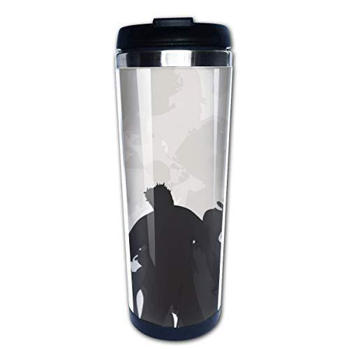 Taza de café de viaje Zombis de Halloween Taza de café con aislamiento de acero inoxidable Botella de agua deportiva 13.5 oz (400 ml) MUG-4832