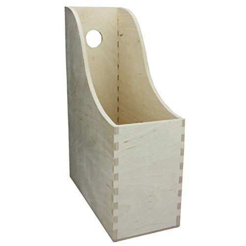 Net4Client Estante de madera para archivos de escritorio fino (madera)