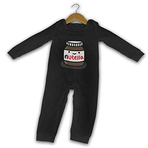 saibing Ruby Fondos Tumblr Nutella Baby Mameluco de manga larga acogedor lindo mono para bebés Crawler