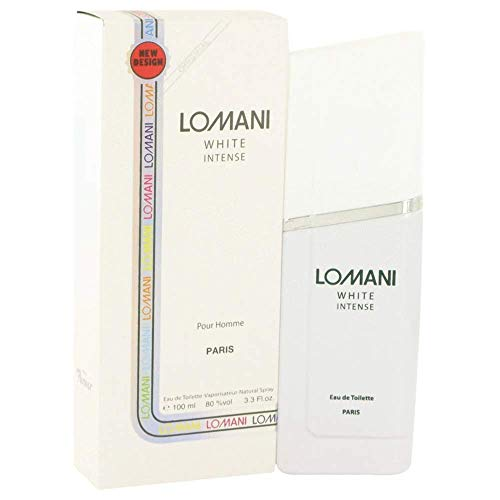 Lomani Lomani Lomani white intense by lomani for men - 3.3 Ounce edt spray, 3.3 Ounce
