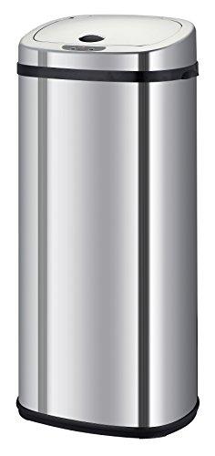 Kitchen Move BAT-42LS02-Cubo de Basura automático, Cuadrado, Acero...