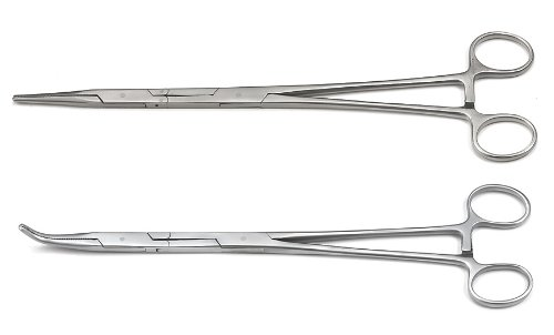 GEARWRENCH 2 Pc. Double-X Straight and 45° Hemostat Plier Set - 82111