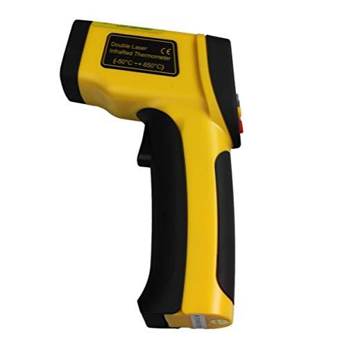 Infrarot-Thermometer-Dual-Laser-LCD-Anzeige -50 bis 650 Grad Celsius von Gugutogo