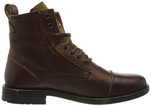 Levi's Herren Emerson Biker Boots, Braun - 6