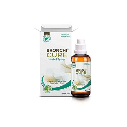 Greencure Bronchicure Herbal Syrup for Respiratory Wellness - 100ml