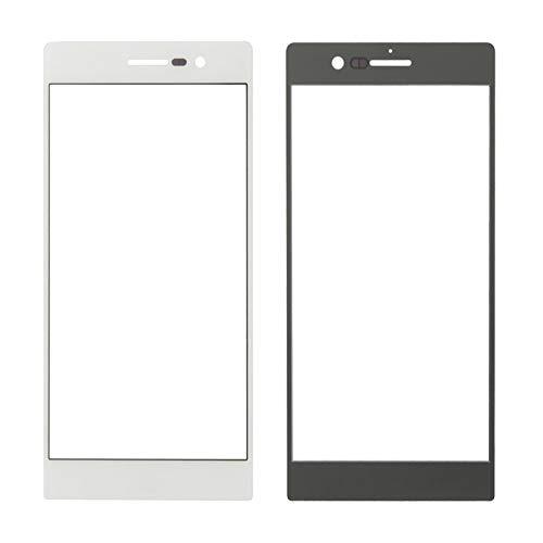 DaiMai 10 lentes de cristal exteriores para Huawei Ascend P7 (blanco) WH (color: blanco)