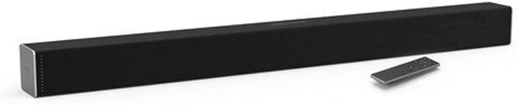 VIZIO Home Theater Sound Bar (SB3820-C6) Black - 2 Channel, 38'' - (Renewed)