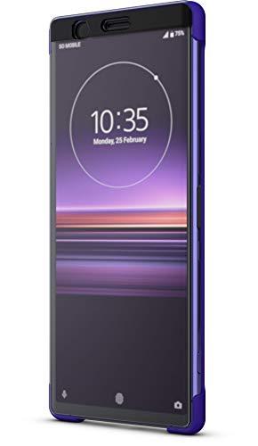 Sony Style Schutzhülle Touch 'Scti30' mit Sichtfenster für Xperia 1, Violett