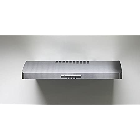Amazon Com Faber Leva30ss300 B 30 300 Cfm Levante I Under Cabinet Range Hood Stainless Steel Appliances