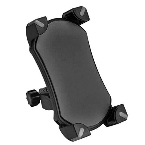 OKwife Soporte Universal para teléfono móvil Bicicleta, Soporte para Manillar de Motocicleta, Soporte para teléfono, Soporte para teléfono Celular de 3,5-6,5', GPS