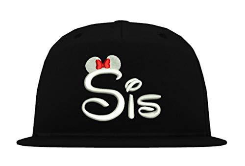 TRVPPY Snapback Cap Modell Sister SIS, Weiß-Schwarz