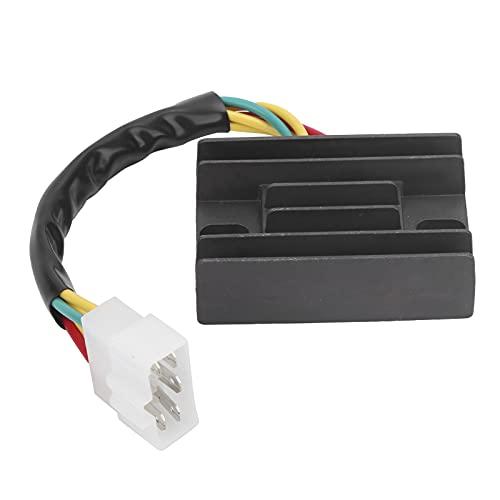 BOTEGRA Rectificador, diodo Componentes electrónicos Regulador de Voltaje Reemplazo Puente rectificador Diodo 4 Cables para Sportsman/Scrambler/ATP para Motocicleta