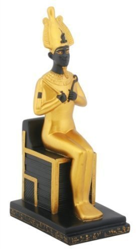 Sitting Osiris Collectible Figurine, Egypt by Summit