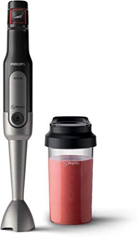 """Philips - Frullatore a immersione """"Viva"""" (800 W, SpeedTouch, con Borraccia Togo 2 in 1), in acciaio inox Frullatore a immersion"""