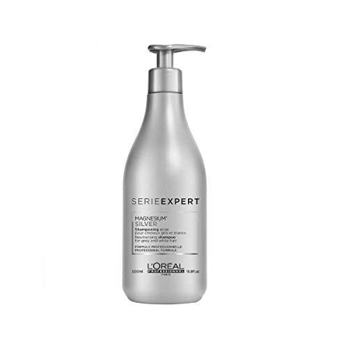 L'Oréal Professionnel Serie Expert Silver Shampoo, 1er Pack, (1x 500 ml)
