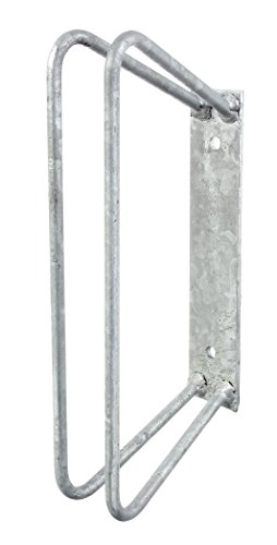 GAH-Alberts 692216 Einzel-Fahrradhalter, Befestigung an der Wand, feuerverzinkt, 90° / 350 x 140 mm