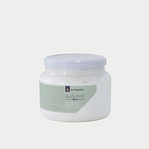 La Pajarita CP-01 Chalk Paint, Weiß Wolke, 500 ml