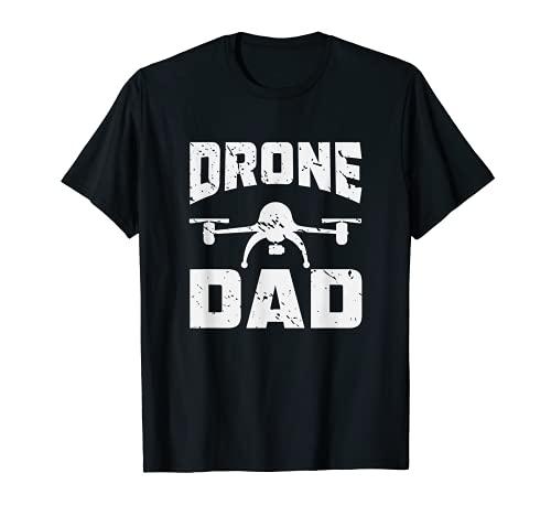 Quadcopter Pilot Drone Dron Día del Padre Dron Regalo Dron Camiseta