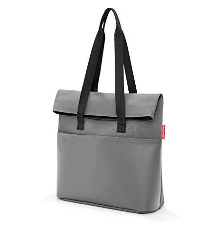 reisenthel foldbag 41 x 53 x 17 cm 23 Liter canvas grey