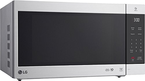 LG LMC2075AST 2.0 Cu. ft. Capacity Neochef Countertop Microwave with Smart Inverter, 24 x 19 x 14 inches, Stainless Steel