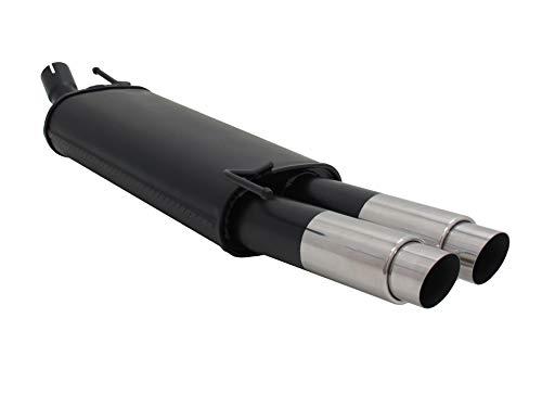 A2532EGP3; Tubo silenciador de acero para V. Golf 4 Cabriolet tipo 1K de Oct 2003 a noviembre 2008