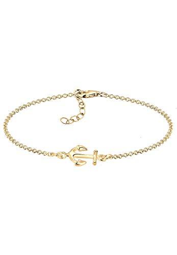 Elli Armband Elli Damen Armband mit Anker Symbol Maritim Sailor in 925 Sterling Silber