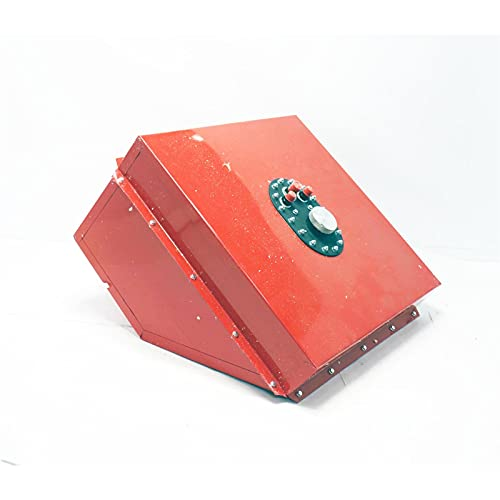RCI 1222F Red 22 Gallon Wedge Fuel Cell, Steel, Screw-On Cap