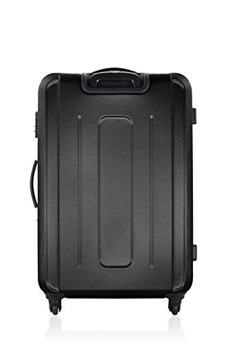 GEORGES RECH Juego de maletas, negro (Negro) - BD-1083