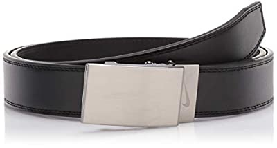 NIKE Men's ACU Fit Ratchet Belt, black - Plaque buckley, One Size