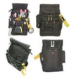 Tool Bags CLC 1524 Medium ZIPTOP Utility Maintenance Electrician Zippered Tool Belt Pouch