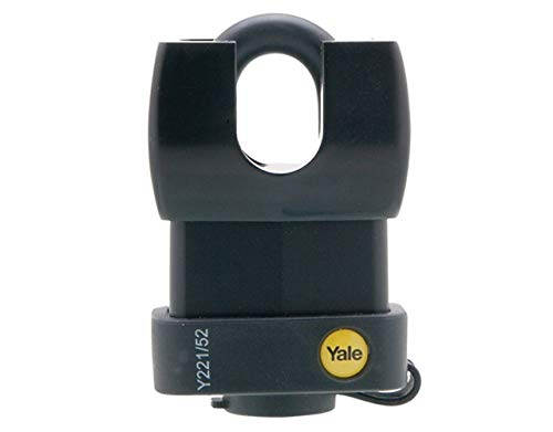 Yale Locks Yale weerbestendig hangslot Hangslot Verloopspoelbak 52 mm Closed Shackle