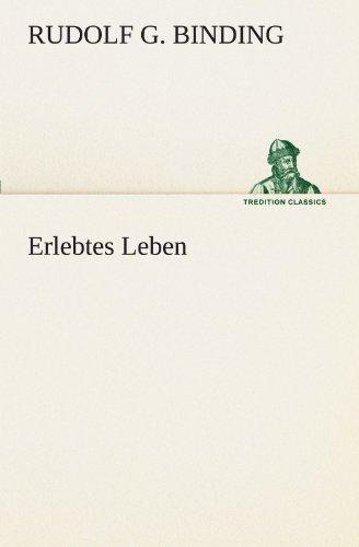 Erlebtes Leben (TREDITION CLASSICS)