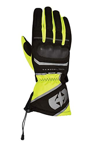 Oxford Montreal 1.0 - Guantes Impermeables para Motocicleta, Color Negro, XX-Large