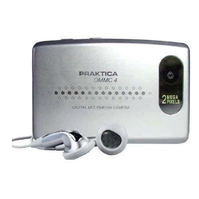 Praktica DMMC 4 multimedia-camera, webcam, MP3, dicteerapparaat met 512MB geheugen