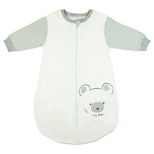 Kleines Kleid Bärchen Baby Langarm Schlafsack, 80-86, Modell 2