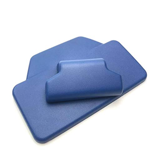 XHSM para B-enelli TRK502 TRK 502 TRK 502X TRK502 X TRK502X Respaldo De Pasajero Almohadilla Trasera Caja Trasera De Aluminio Etiqueta De Maletero Accesorios (Color : Azul)