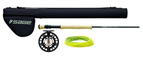 Sage Fly Fishing 590-4 Foundation Outfit 5WT 9' (4 Piece)