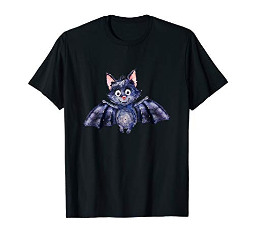 Vampir Fledermaus witzig Karneval Halloween Kostüm Geschenk T-Shirt