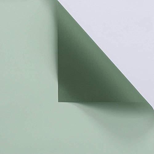 ZXL Papel para Envolver Paquetes de Flores, Papel Impermeable de Dos Tonos Floristería Papel Decorativo Tienda pequeña Tamaño pequeño Materiales de Embalaje de Colores Origami (Color: 11, Tamaño
