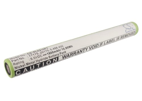 Cameron-Sino Replacement Battery for Streamlight Flashlight 75175, 75300, 75301, 75302, 75303, 75304, 75305, 75306, 75307, 75308, 75309, 75310, 75311, 75500, 75501, 75502, 75503, 75504, 75505, 75506,