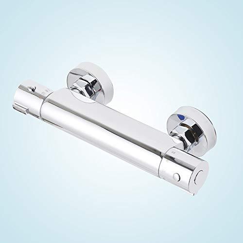 BALLSHOP Brausethermostat Duschthermostat Brause- und Duschsysteme Mischbatterie Silber
