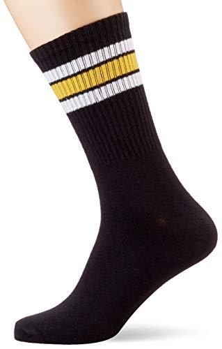 JACK & JONES Herren JACWIND NOOS Socken, Schwarz (Black Black), (Herstellergröße: One Size)