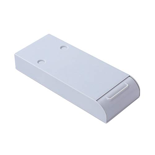NUOBESTY Caja de Lápices Debajo Del Escritorio Tipo de Cajón Adhesivo Invisible Caja de Lápices Cajón de Gran Capacidad Caja de Lápices Almacenamiento de Estudiantes para Escuela de Oficina