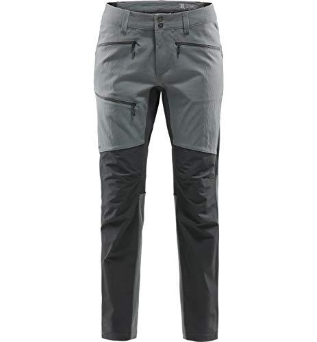 Haglöfs Wanderhose Herren Rugged Flex Pant wasserabweisend, windabweisend, Stretch Magnetite/True Black M M