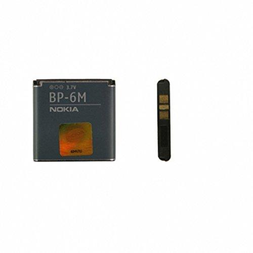 Batteria originale BP-6M per Nokia 9300 9300i 3250 6110N 6151 6233 6234 6280 6288 N73 N77 N81 N93