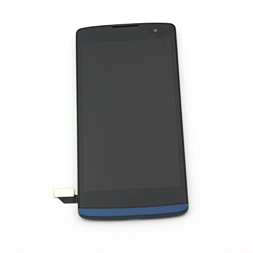 Touch Screen Digitizer LCD Display Assembly Replacement for LG Leon LTE MetroPCS Risio H343 MS345 C50 h340 h340n h340f h340ar h345 / Tribute 2 LS665 (Blue)