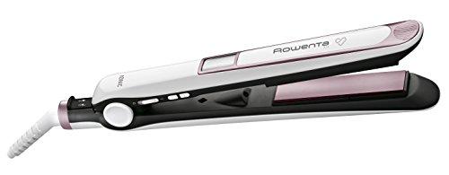 Rowenta Premium Care SF7460F0 - Plancha de Pelo, alisa, ondula y riza, de alta protección con recubrimiento de cashmere Keratin con aceite de argán y el generador de Iones, auto off y cable 360º